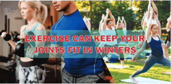 What exercise you can do to keep your joints fit in winter